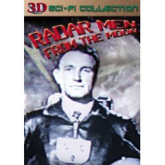 Radar Men From The Moon 3D - NEW DVD FACTORY SEALED
