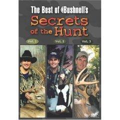 Best of Bushnell's Secrets of the Hunt Volumes 1-3 NEW DVD FACTORY SEALED