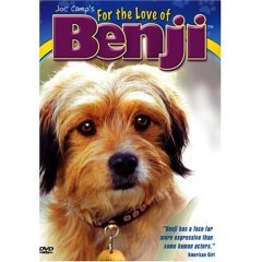 For The Love Of Benji - NEW DVD FACTORY SEALED
