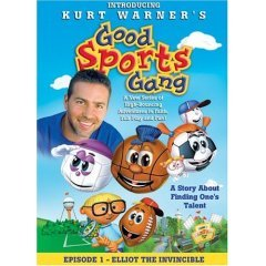 Good Sports Gang Episode 1 Elliot the Invincible - NEW DVD FACTORY SEALED