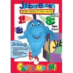 Jibberboosh Count Me In! - NEW DVD FACTORY SEALED