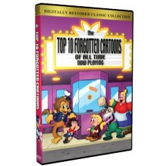 Top 10 Forgotten Cartoons of All Time - NEW DVD FACTORY SEALED