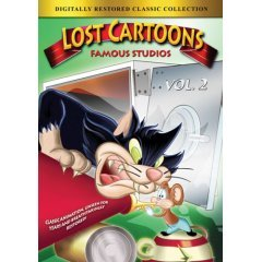 Lost Cartoons Famous Studios - NEW DVD FACTORY SEALED