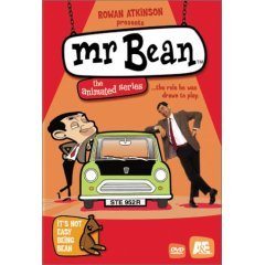 Mr Bean The Animated Series - It's Not Easy Being Bean (New DVD)