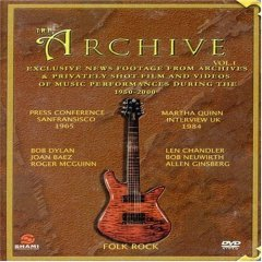 The Archive Volume 1 Folk Artists - NEW DVD FACTORY SEALED