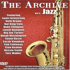 The Archive Volume 3 Jazz - NEW DVD FACTORY SEALED