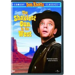 Shakiest Gun in the West - NEW DVD FACTORY SEALED