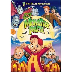 Alvin and the Chipmunks Monster Pack - NEW DVD FACTORY SEALED