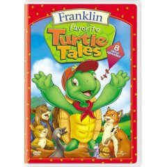Franklin Favorite Turtle Tales 8 Episodes - NEW DVD FACTORY SEALED