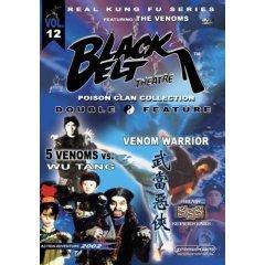 5 Venoms vs. Wu Tang - /Venom Warrior - NEW DVD FACTORY SEALED