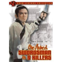One Armed Swordsman vs. 9 Killers - NEW DVD FACTORY SEALED