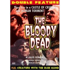 The Bloody Dead - Creature with the Blue Hand - NEW DVD FACTORY SEALED