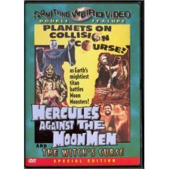 Hercules Against The Moon Men - The Witch's Curse - NEW DVD FACTORY SEALED