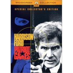 Patriot Games - NEW DVD FACTORY SEALED