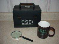 CSI CRIME SCENE INVESTIGATION - Limited Edition Collector's Set (FREE Shipping)