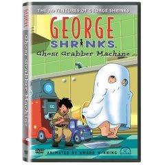 George Shrinks - Ghost Grabber Machine - NEW DVD FACTORY SEALED