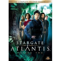 Stargate Atlantis Season 2- NEW DVD BOX SET FACTORY SEALED