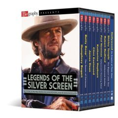 Biography Legends of the Silver Screen - NEW DVD BOX SET FACTORY SEALED