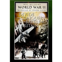 Why We Fight World War II - Divide and Conquer / The Battle of Britain (New DVD Factory Sealed)
