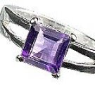 MTristaN Signature Ring Amethyst