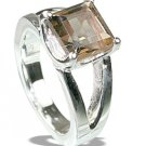 MTristaN Signature Ring Smoky Quartz