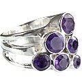 MTristaN Cocktail Ring Amethyst