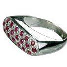 M. Tristan Bar Ring Ruby