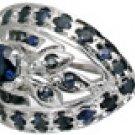 MTristaN Blossom Ring Sapphire