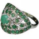 MTristaN Blossom Ring Emerald