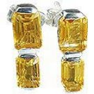 MTristaN Bliss Earrings Citrine