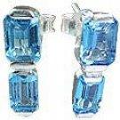 MTristaN Bliss Earrings Blue Topaz