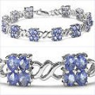 M. Tristan Daisy Chain Bracelet Tanzanite