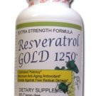 3 MAX  POTENCY RESVERATROL GOLD 1250  Pure Restveratrol
