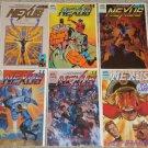 First Comics Nexus 45-50 NM Mike Baron, Badger x-over
