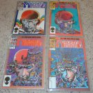 Marvel Machine Man Mini 1-4 NM 1984 Barry Windsor Smith