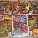 Marvel Avengers 396-402 X-men Onslaught, last issue