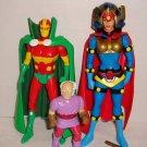 DC Direct Mister Miracle Big Barda Oberon 3-pack loose