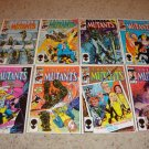 Marvel New Mutants 31-38 NM, Magneto becomes Headmaster