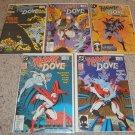 DC Hawk & Dove 1-5 NM 2nd Series, New Dove, Liefeld art