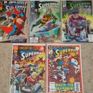 DC Superman (2nd) 50, 55, 60, 63, Ann. 4 Proposal Issue