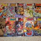 Valiant Comics Magnus Robot Fighter 21-30,  Silver foil