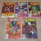 Marvel Uncanny X-men 239-243 Inferno Story Mr. Sinister