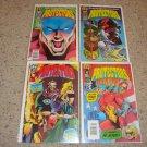 Malibu Comics Protectors 1-4 NM, 1992