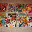 Marvel Team-Up 132-134, 136-140 NM Spider-man, FF