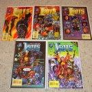 Tekno Comics Isaac Asimov's I-Bots 1-5 NM George Perez