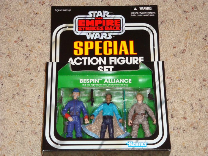 Star Wars Target Exclusive Empire Strikes Back Bespin Alliance 3-Pack New in Box