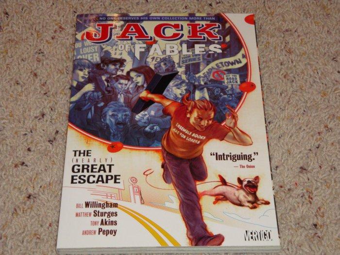 DC Vertigo Jack of Fables TPB Vol 1 The (Nearly) Great Escape NM 2007