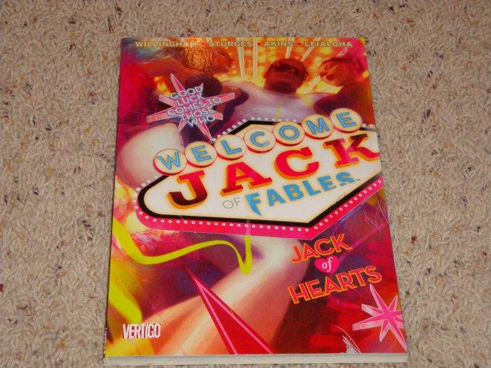 DC Vertigo Jack of Fables TPB Vol 2 Jack of Hearts NM 2007