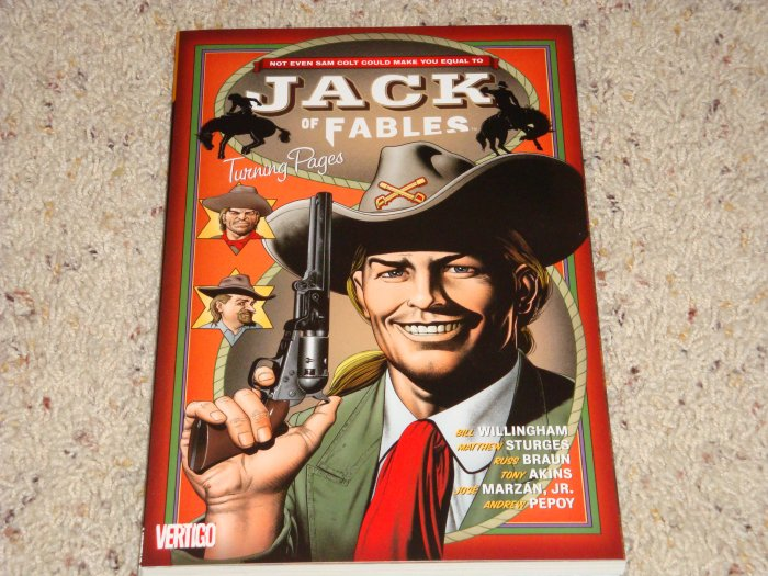 DC Vertigo Jack of Fables TPB Vol 5 Turning Pages NM 2009