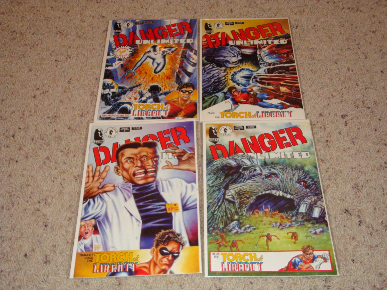 Dark Horse Danger Unlimited 1-4 NM by John Byrne